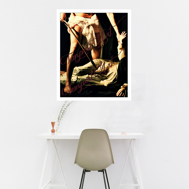 Caravaggio Martyrdom of Saint Matthew Tableau Tempest Art Home Art Print