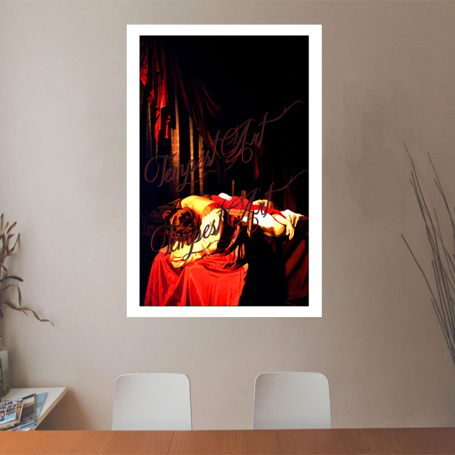 Caravaggio Death of a Virgin Tableau Tempest Art Office Art Print